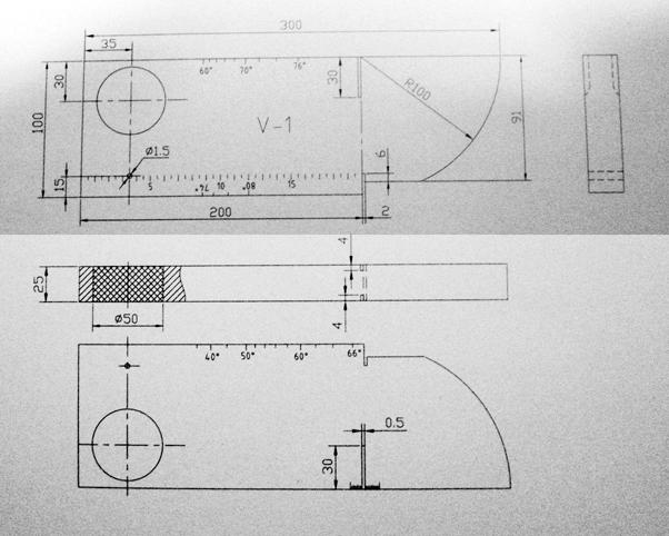 Iiw Type 1 V1 Ultrasonic Calibration Test Block Aws Type